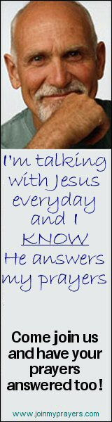 I am talking with Jesus every day and I KNOW He answers my prayers